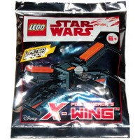 Lego Star Wars Episode 7 Limited Edition Poe Damerons Xwing Foil