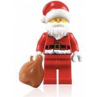 Lego City Holiday Advent Minifigure Santa Claus With Glasses