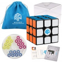 Coogam Gans 356 Air Sm Speed Cube 3x3 Black Gan 356Air S Magnetic Puzzle Gan356 With New Ges