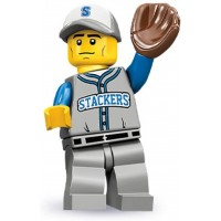Lego Series 10 Baseball Fielder Mini