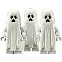 Lego Ghost Glow In The Dark 3 Pack Minifigures Monster