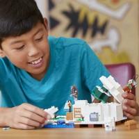 Lego Minecraft The Polar Igloo 21142 Building Kit 278 Piece