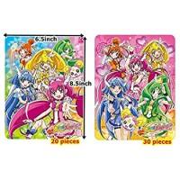 Inuri Glitter Force Smile Precure Puzzle Safe Soft Puzzles Set 20Pieces