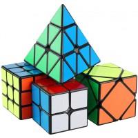 Dfantix Speed Cube Set Mofang Jiaoshi Mf3Rs 3X3 Mf2S 2X2 Skewb Pyramid 2X2X2 3X3X3 Speed Cubes