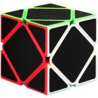 Twisterck Oblique Twist Puzzle Cube With Carbon Fiber StickerSkewb Magic CubeFluctuation Angle