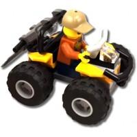 Lego City Jungle 30355 Atv Car With Minifigure 2017 Polybag Ages 4