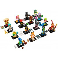 Lego Series 19 Collectible Minifigures Complete Set Of 16