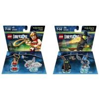 Lego Dimensions Super Ladies Bundle 1 71209 Wonderwoman 1 71221 Wicked