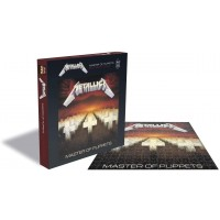 Metallica Jigsaw Puzzle Master Of Puppets Album Cover Official 500