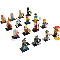 Lego Mini Figures The Movie Wiley
