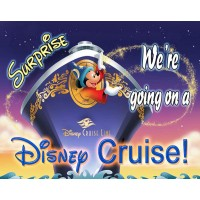 Were Going To Disney World Were Going On A Disney Cruise 30 Piece Puzzle Vacation