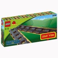Lego Duplo Legoville Straight Tracks 6 Pieces