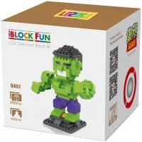 Lozusa Cartoon Character 290 Pcs Diamond Block Mini Figure Hero Micro Blocks Construction Model