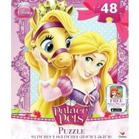 Disney Princess Palace Pets Featuring Tangled Rapunzel 48 Piece Puzzle By
