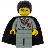 Harry Potter Gryffindor Shield Torso Cape Yf Lego Figure By