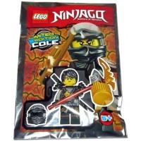 Lego Ninjago Limited Edition Masters Of Spinjitzu Cole Foil Pack