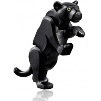 Lego Jungle Minifigure Animal Black Panther Jungle Cat