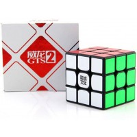 Cuberspeed Moyu Weilong Gts2 Black 3X3 Magic Cube Moyu Weilong Gts V2 3X3X3 Speed Cube
