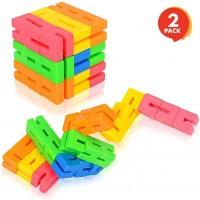 Gamie Iq Twist Cube Set 2 Pack 15 Inch 3D Puzzle Game Fun Educational Brain Teaser Fidget Sensory