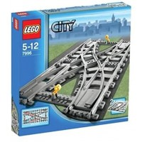 Lego City Train Rail Crossing