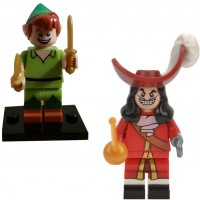 Lego Disney Minifigures 71012 Peter Pan Captain Hook 2