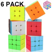 Speed Cube Set 3X3X3 Speed Cube 56Mm Magic Cube Professional Puzzle Cube Set Toy Great Gift For Kid