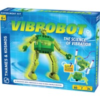 Vibrobot Vibrating Robot Building Science Kit