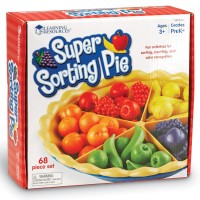 Super Sorting Pie Early Math Learning Toy