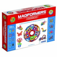 Magformers Challenger 112 pc Deluxe Magnetic Building Set
