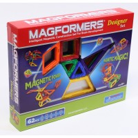 Magformers Designer 62 pc Magnetic Building Set