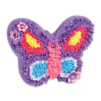 Plush Craft Butterfly Pillow Girls Craft Kit