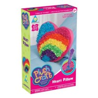 PlushCraft Heart Pillow Girls Craft Kit