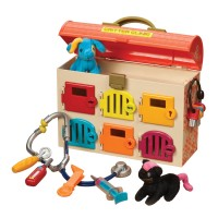 Critter Clinic Lock & Key Vet Hospital Set