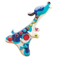 Woofer Electric Guitar Dog Shaped Musical Toy