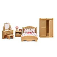 Calico Critters Parents' Bedroom