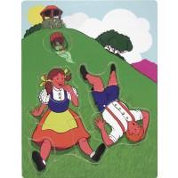 Melissa Doug Fairy Tales And Nursery Rhyme Puzzles Set Of