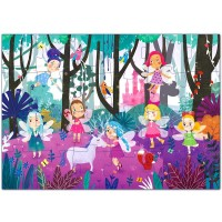 Puzzles Ages 35 Premium 24 Piece Fairy Forest Floor Puzzles Ages 48 Preschool Jigsaw Puzzles