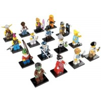 Lego Minifigures Series 4 Complete Set Of 16