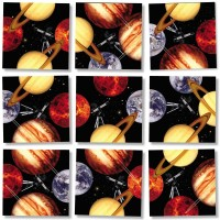 Scramble Squares Planets 9 Piece Challenging Puzzle Ultimate Brain Teaser And Mind Game For Young
