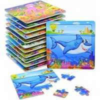 Vileafy Wooden Jigsaw Puzzles Age 35 Years Old Animals Preschool Puzzles Party Favors For Girls