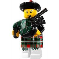 Lego 8831 Minifigures Series 7 Bagpiper Rare Collection Modell X1