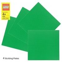 Lego Green Baseplate 626 10 X 10 Set Of