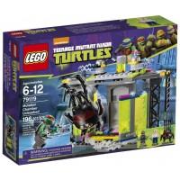 Lego Ninja Turtles 79119 Mutation Chamber Unleashed Building