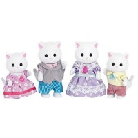 Calico Critters Persian Cat Family