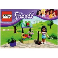 Lego Friends Emmas Flower Stand Set 30112