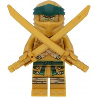 Lego Ninjago Minifigure Lloyd Garmadon Legacy Gold Ninja With