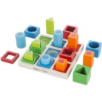 Shape Sequence Sorting Wooden Set