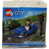 Lego City Blue Car 30349