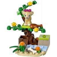 Lego Friends Lion Of The Baby And Savannah