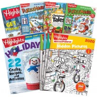 Highlights 10Piece Christmas Set With Hidden Pictures Ages